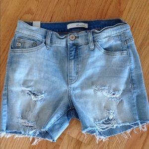Pants - KanCan Distressed Shorts